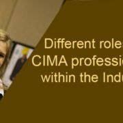 CIMA professionals in India: Different types of job roles available