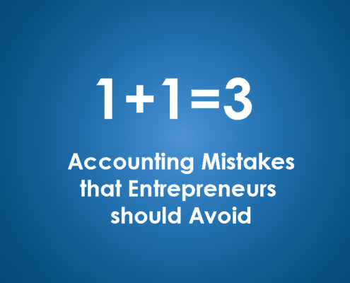 Accounting Mistakes that Entrepreneurs should Avoid
