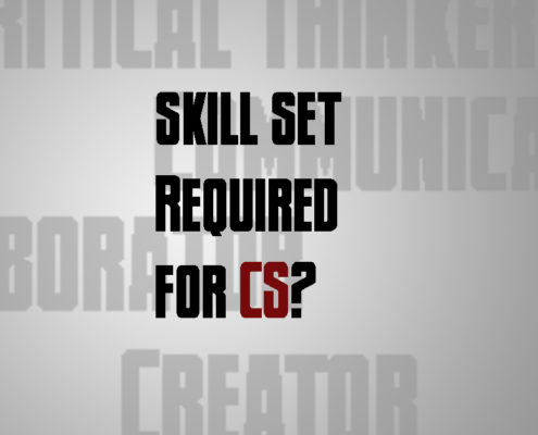 Skill Sets Required for CS