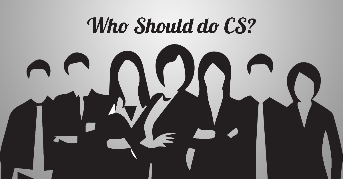 who should do cs