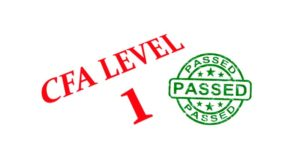 Clearing Level I of the CFA® Program exam at the first attempt