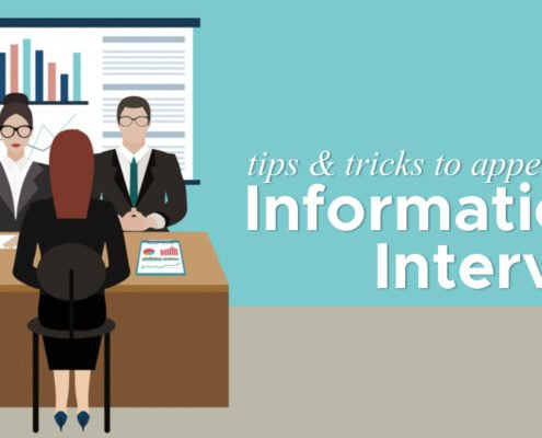 Tips & Tricks to appear for an Informational Interview