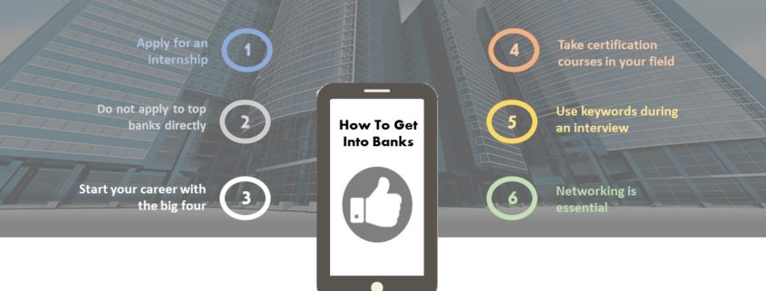 7 Tips to consider before applying for a banking job