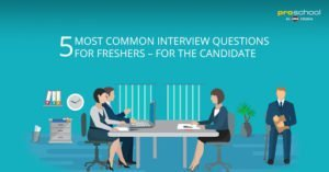 5 Most Common Interview Questions for Freshers - for the Candidate
