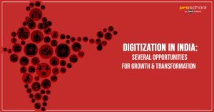 Digitization in India: Several Opportunities for Growth & Transformation