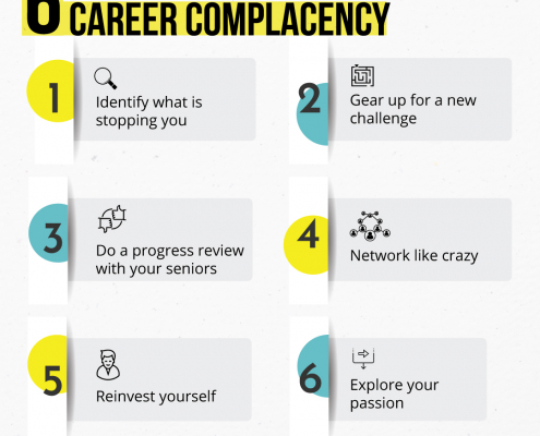 6 steps to overcome career complacency